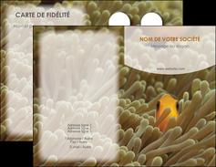 impression carte de visite animal nemo macro original MLGI36454
