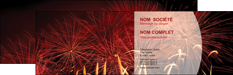 modele en ligne carte de visite 14 juillet feux dartifice artificier MLGI36622