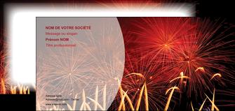 creation graphique en ligne carte de correspondance 14 juillet feux dartifice artificier MIS36634