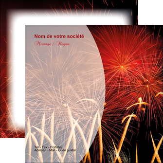 creation graphique en ligne flyers 14 juillet feux dartifice artificier MLGI36646