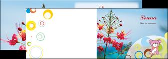 imprimerie depliant 2 volets  4 pages  couleur fleur liberte MIF36780