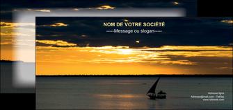 exemple flyers sejours pirogue couche de soleil mer MLGI36932