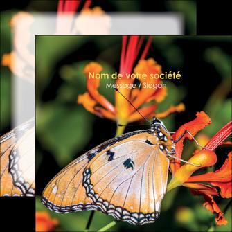 faire flyers belle photo de papillon macro couleur MLGI36978