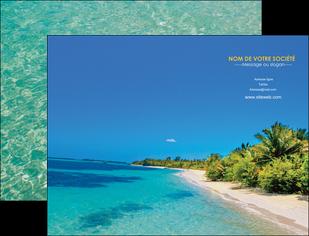 imprimerie pochette a rabat sejours plage sable mer MLIP37040