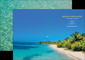 creer modele en ligne pochette a rabat sejours plage sable mer MLIP37042