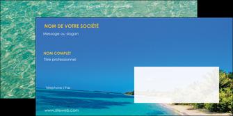 personnaliser modele de enveloppe sejours plage sable mer MLIP37072
