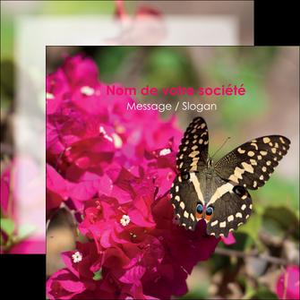 imprimerie flyers agriculture papillons fleurs nature MLGI37106