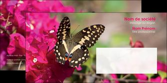 faire enveloppe agriculture papillons fleurs nature MLGI37116