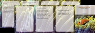 faire modele a imprimer depliant 4 volets  8 pages  animal originale belle photo idee MLGI37458