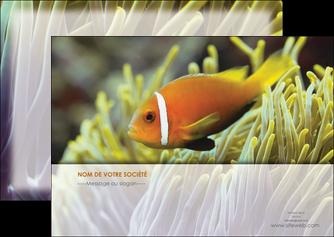 maquette en ligne a personnaliser flyers animal originale belle photo idee MLGI37470