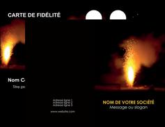 personnaliser maquette carte de visite evenement evenementiel lumiere MID37534