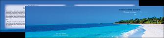 modele en ligne depliant 2 volets  4 pages  sejours plage mer sable blanc MLGI37590