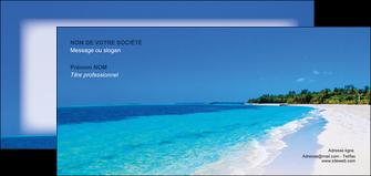 realiser carte de correspondance sejours plage mer sable blanc MLGI37596