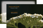 maquette en ligne a personnaliser carte de visite fleuriste et jardinage plantes cactus fleurs MLGI37668