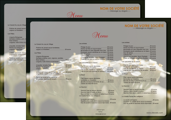 maquette en ligne a personnaliser set de table fleuriste et jardinage plantes cactus fleurs MLGI37672