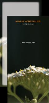 exemple flyers fleuriste et jardinage plantes cactus fleurs MLGI37674