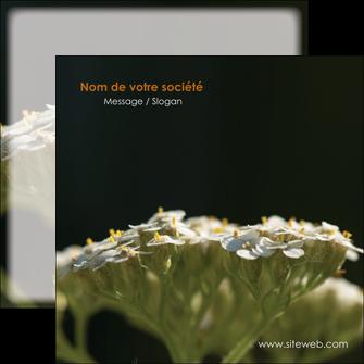 creation graphique en ligne flyers fleuriste et jardinage plantes cactus fleurs MLGI37692