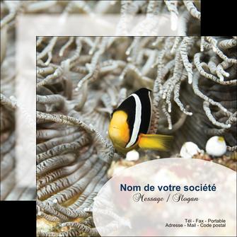 maquette en ligne a personnaliser flyers animal poisson plongee nature MLGI37892