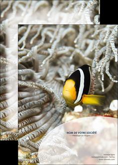 modele en ligne affiche animal poisson plongee nature MLGI37900