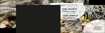 exemple carte de visite animal poisson plongee nature MLGI37912