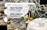 exemple carte de visite animal poisson plongee nature MLGI37914