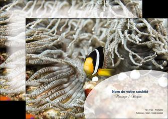impression flyers animal poisson plongee nature MLGI37928