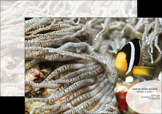 modele en ligne pochette a rabat animal poisson plongee nature MLGI37936