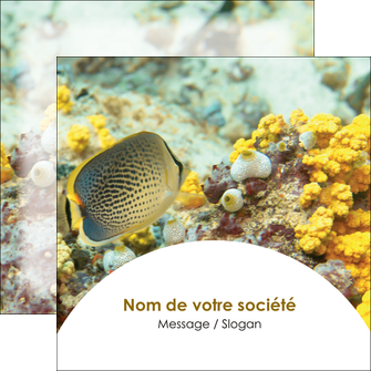 realiser flyers plongee  poisson plongee nature MLGI38224