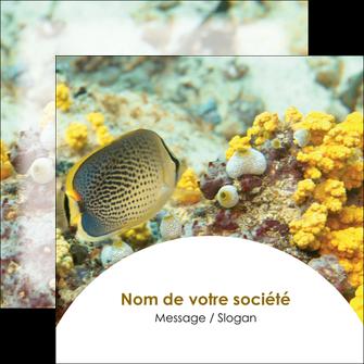 realiser flyers plongee  poisson plongee nature MLGI38224