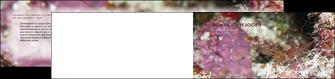 creer modele en ligne depliant 2 volets  4 pages  poisson et crustace crevette crustace animal MIF39000