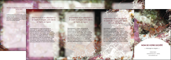 creation graphique en ligne depliant 4 volets  8 pages  poisson et crustace crevette crustace animal MIS39002