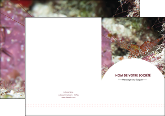 realiser pochette a rabat poisson et crustace crevette crustace animal MIS39024