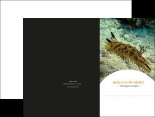 maquette en ligne a personnaliser pochette a rabat animal crevette crustace animal MIF40154