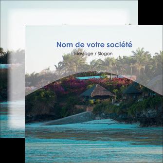 creation graphique en ligne flyers agence immobiliere maison sur plage immobilier immobilier de luxe MIS40258