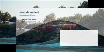maquette en ligne a personnaliser enveloppe agence immobiliere maison sur plage immobilier immobilier de luxe MIS40270