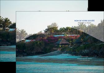 personnaliser maquette pochette a rabat agence immobiliere maison sur plage immobilier immobilier de luxe MIS40280
