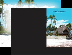 personnaliser maquette pochette a rabat agence immobiliere maison maison sur la plage lotissement MIS40590