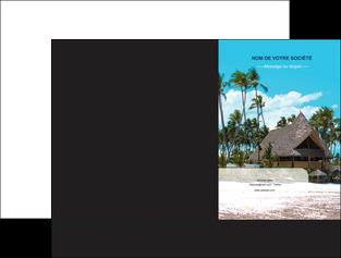 creation graphique en ligne pochette a rabat agence immobiliere maison maison sur la plage lotissement MIS40592