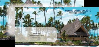 creation graphique en ligne flyers agence immobiliere maison maison sur la plage lotissement MIS40598