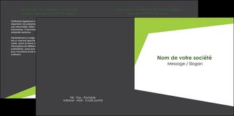 faire depliant 2 volets  4 pages  texture contexture structure MIF41176