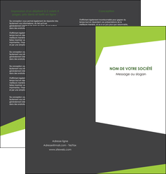 personnaliser maquette depliant 2 volets  4 pages  texture contexture structure MIF41178