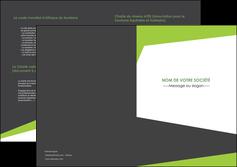 creation graphique en ligne depliant 2 volets  4 pages  texture contexture structure MLIG41210
