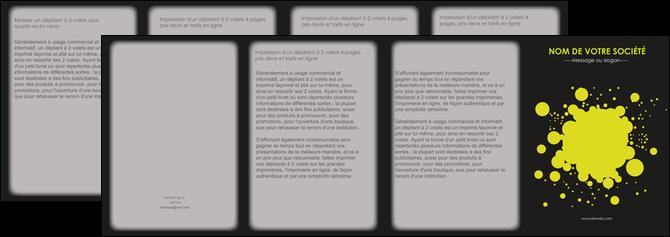 maquette en ligne a personnaliser depliant 4 volets  8 pages  texture contexture structure MLIG41384