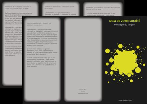 modele en ligne depliant 3 volets  6 pages  texture contexture structure MLIG41390