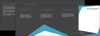 creer modele en ligne depliant 4 volets  8 pages  abstrait design texture MIDLU41584