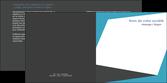 cree depliant 2 volets  4 pages  abstrait design texture MLGI41586