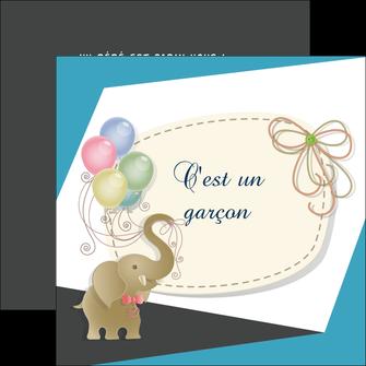 cree flyers elephant ballons noeud MLIG41686