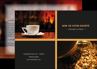 maquette en ligne a personnaliser flyers bar et cafe et pub bar cafe pub MLIG41810