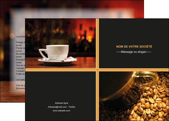 personnaliser modele de affiche bar et cafe et pub bar cafe pub MLIG41836