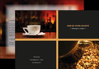 maquette en ligne a personnaliser affiche bar et cafe et pub bar cafe pub MLIG41840